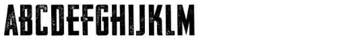 Vintage Fonts Collection VFC Fantomen Press Font UPPERCASE