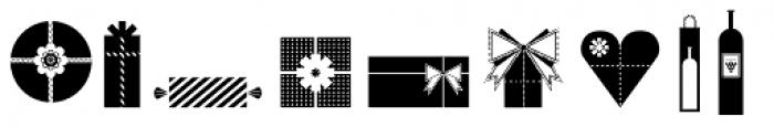 Vintage Wedding Symbols Font OTHER CHARS