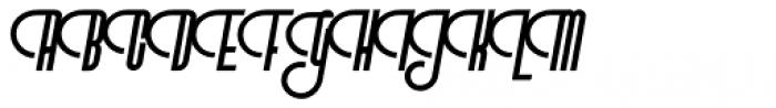 Vinyle Light Font UPPERCASE