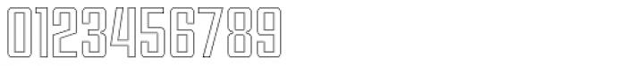 Violenta Outline Unicase Font OTHER CHARS