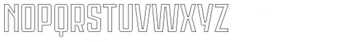 Violenta Outline Unicase Font UPPERCASE