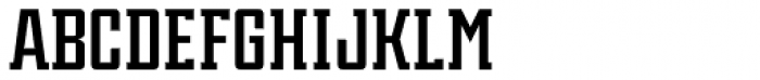 Violenta Slab Solid Unicase Font UPPERCASE