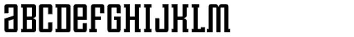 Violenta Slab Solid Unicase Font LOWERCASE