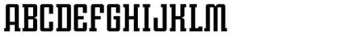 Violenta Slab Solid Font LOWERCASE
