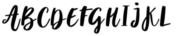 Violet Regular Font UPPERCASE