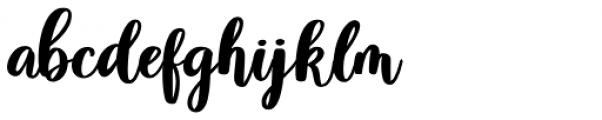 Violet Regular Font LOWERCASE