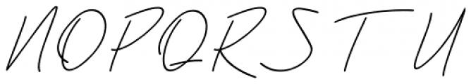 Violia Italic Font UPPERCASE