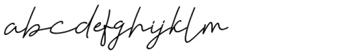 Violia Italic Font LOWERCASE
