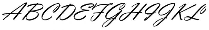 Violin Script Pro Font UPPERCASE