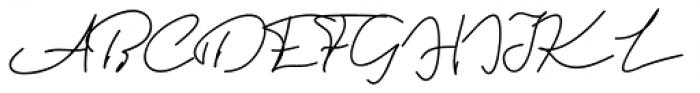 Violitta Minimalis Font UPPERCASE