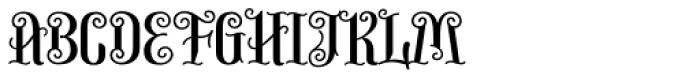 Virgin Font UPPERCASE