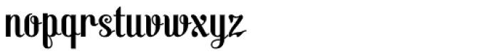 Virgin Font LOWERCASE