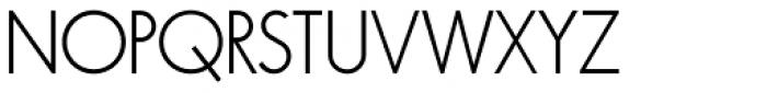 Virginia Light Font UPPERCASE