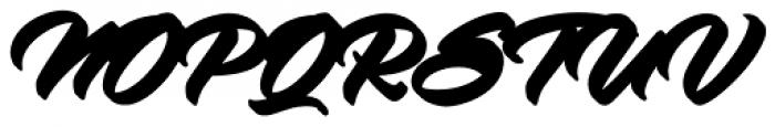 Virmana Script Extrude One Font UPPERCASE