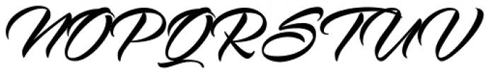 Virmana Script Regular Font UPPERCASE