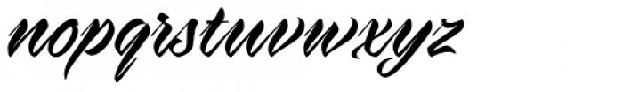 Virmana Script Regular Font LOWERCASE