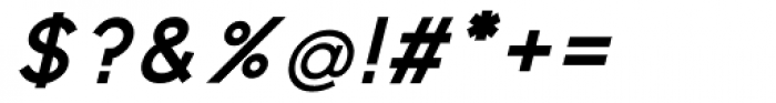 Virtus Sans Bold Italic Font OTHER CHARS