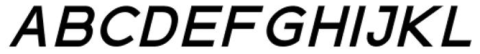 Virtus Sans Bold Italic Font UPPERCASE