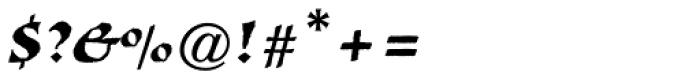 Visigoth Std Font OTHER CHARS