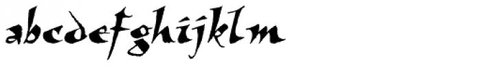 Visigoth Std Font LOWERCASE