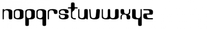Visitor Font LOWERCASE
