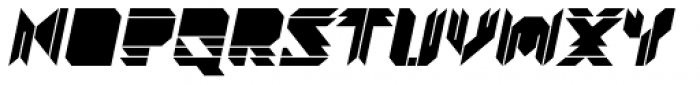 Visoko Black Italic Font UPPERCASE