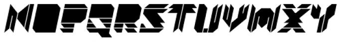 Visoko Black Italic Font LOWERCASE