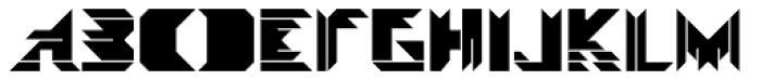 Visoko Black Font UPPERCASE
