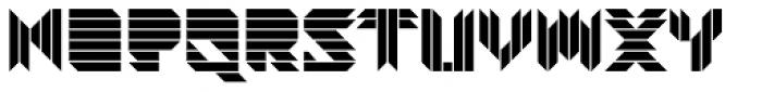 Visoko Font UPPERCASE