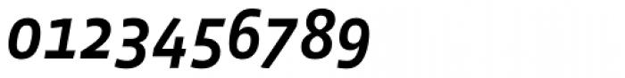 Vista Sans Medium Italic Font OTHER CHARS