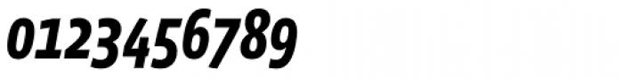 Vista Sans Narrow Bold Italic Font OTHER CHARS