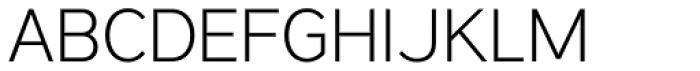Vistol Extra Light Font UPPERCASE