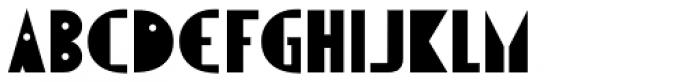 Visual Arts JNL Font UPPERCASE