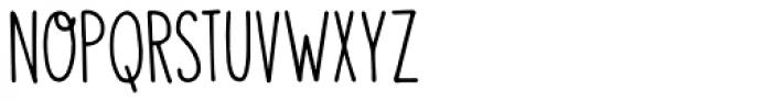 Visum Font LOWERCASE