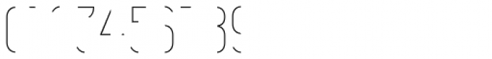 Vitacura Line Font OTHER CHARS