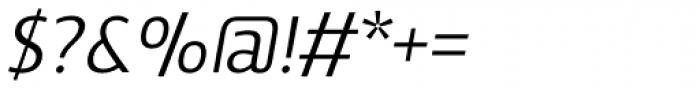 Vitali Neue Medium italic Font OTHER CHARS