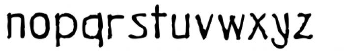 Vitalique Font LOWERCASE