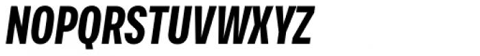 Vito Compressed Black Italic Font UPPERCASE