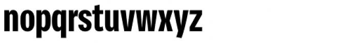 Vito Compressed Black Font LOWERCASE