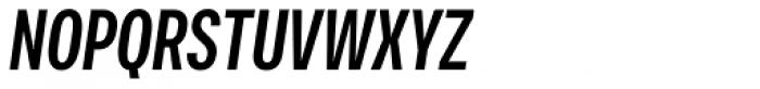 Vito Compressed Bold Italic Font UPPERCASE