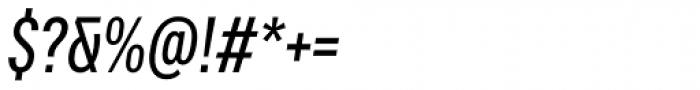Vito Compressed Medium Italic Font OTHER CHARS