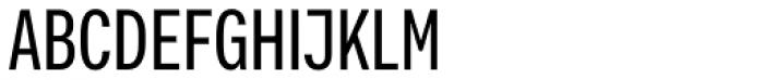 Vito Compressed Medium Font UPPERCASE