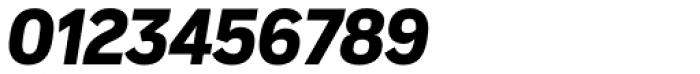 Vito Condensed Black Italic Font OTHER CHARS