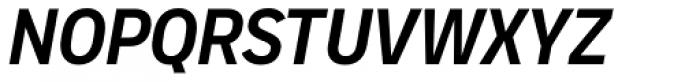 Vito Condensed Bold Italic Font UPPERCASE