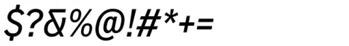 Vito Condensed Medium Italic Font OTHER CHARS