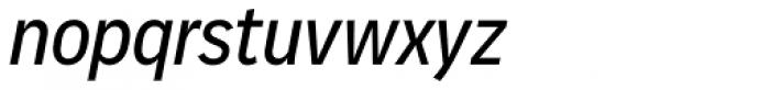 Vito Condensed Medium Italic Font LOWERCASE