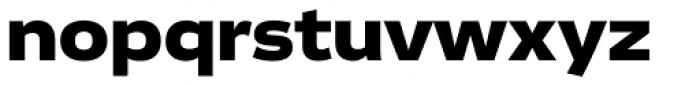 Vito Extended Black Font LOWERCASE
