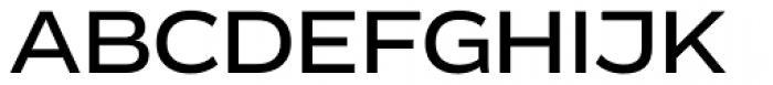 Vito Extended Medium Font UPPERCASE
