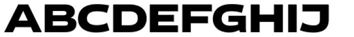 Vito Wide Black Font UPPERCASE