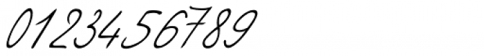 Vittorio Handwriting Font OTHER CHARS